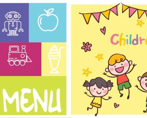 Menu pour enfants